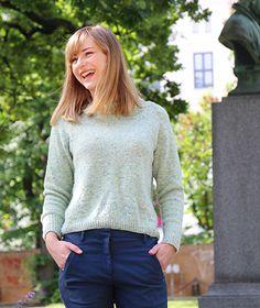 43d5bdfd Ravelry: Top-Down-Sweater / Ovenfra-og-ned-genser pattern by Anna & Heidi  Pickles