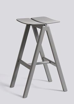 The COPENHAGUE BAR STOOL, structure in solid wood, RONAN AND ERWAN BOUROULLEC, HAY: the famous french designers duo for a new danish chair