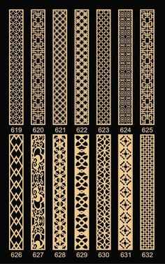Discover thousands of images about Decorative Wood Grill Gate Design, Border Design, Door Design, Jaali Design, Molduras Vintage, Cnc Cutting Design, Wood Grill, Window Grill Design, Room Partition Designs