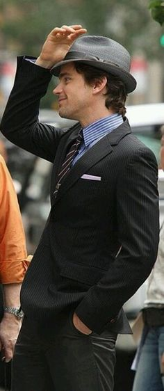 "Matt Bomer....""White Collar Crime"""