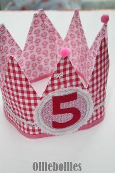 Verjaardagskroon Prinses | Verjaardagskroon | Olliebollies