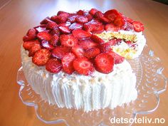 Raspberry, Strawberry, Frisk, Tart, Cake Recipes, Cheesecake, Deserts, Food And Drink, Food Food