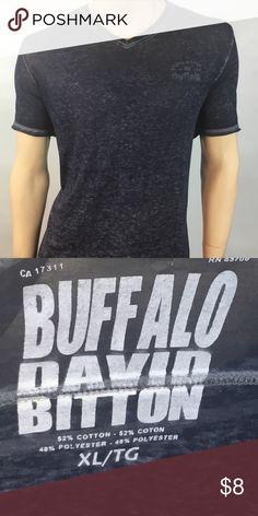Men's v-neck casual top XL/TG Men's v-neck casual top XL/TG Buffalo David Bitton Shirts