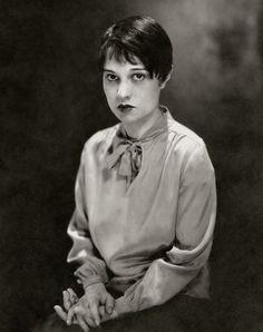 Screenwriter Anita Loos by Edward Steichen, 1928.