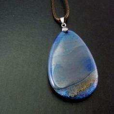 Agat med sedimenteringer Pendant Necklace, Jewelry, Fashion, Moda, Jewlery, Jewerly, Fashion Styles, Schmuck, Jewels