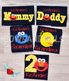 Hey, I found this really awesome Etsy listing at https://www.etsy.com/listing/261933579/elmo-inspired-birthday-shirt-parents