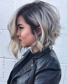 50 Unique Hair Color Ideas for 2019 50 Unique Hair Color Ideas for Here we come to the new year which is the best time to switch up your look. After one more year, 2019 deserves new you, right? If you're looking …, Hair Color - Unique World Of Hai Short Hair Cuts For Round Faces, Short Hair Styles Easy, Medium Hair Styles, Short Hair Round Face Plus Size, Round Face Haircuts Medium, Short Hair For Chubby Faces, Chubby Face Haircuts, Pixie Cut Round Face, Bobs For Round Faces