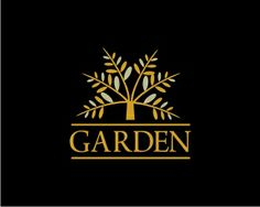 GARDENEER| BrandCrowd Tree Logos, How To Make Logo, Logo Maker, Agriculture, Create Yourself, Fonts, Logo Design, Branding, Graphics