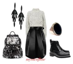 """""""DRESS ROUGH"""" by myownflow on Polyvore featuring Isabel Marant, Acne Studios, ABS by Allen Schwartz and Miss Selfridge"""