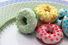 Fun mini doughnuts!