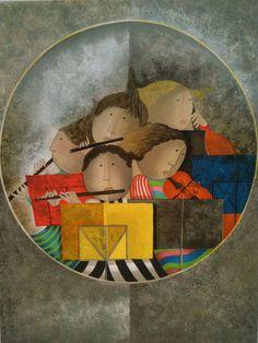 Graciela Rodo Boulanger : Serenade - Art Brokerage