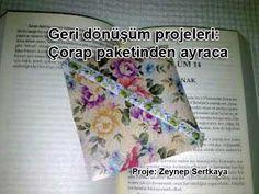 Geri dönüşüm projeleri Çorap paketinden kitap ayracına diy project by Zeynep Sertkaya