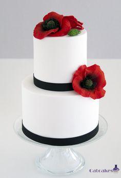 Poppy+cake+-+Cake+by+Catcakes