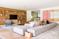 Living Room Designs, Living Room Decor, Living Spaces, Sofa Design, Livng Room, Mini Loft, Sofa Home, Best Sofa, Sofa Furniture