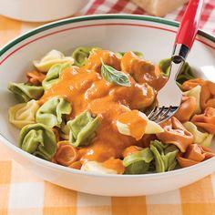 Sauce rosée à l'italienne - Les recettes de Caty Rose Sauce Recipe, Sauce Recipes, Cooking Recipes, Dessert Drinks, Dessert Recipes, Marinade Sauce, Sauces, Bon Appetit, Entrees