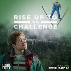 "Disclosure: I received a gift card as compensation for this post. Opinions on this blog are my own. Eddie the Eagle is in the theatres on February 26, 2016!  About the Movie Inspired by true events, Eddie the Eagle is a feel-good story about Michael ""Eddie"" Edwards (Taron Egerton), an unlikely but courageous British ski-jumper …"