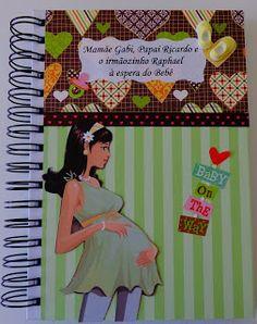 Papeleira Maluca - convites, lembrancinhas, diário gravidez e bebê, caderno de receitas, álbum, cartão
