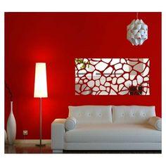 Dizajnové nalepovacie zrkadlá obdĺžníkové Love Seat, Couch, Furniture, Home Decor, Settee, Decoration Home, Sofa, Room Decor, Home Furnishings