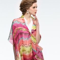 LOVE it #scarf #fashion This is my dream scarves-fashion !!- luxury scarves. Click pics for best price ?
