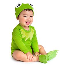 Kermit Disney Cuddly Bodysuit Collection for Baby