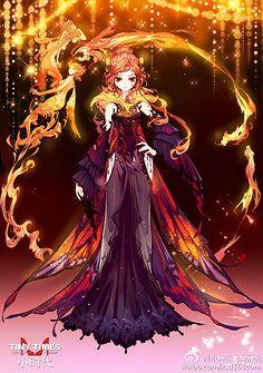 Nature Fairy 9ebd40b2386735b07e0c458db4294458--phoenix-bird-anime-outfits