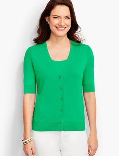 8d05daa6e8b The Kelly Cardigan | Talbots Stylish Outfits, Cute Outfits, Clothes For  Sale, Clothes