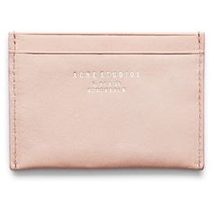 ACNE Card Lilac (€75) found on Polyvore
