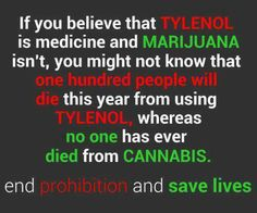 """Why? Why is cannabis considered an """"evil drug"""" by our government?"""