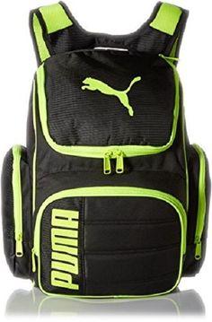 NWT PUMA EQUATION 19 Gear Backpack Black Yellow One Size Sports Gym Bag #Puma #Backpack #ebay #Puma #Backpack