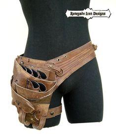 Stylist Belt, stylist, shears holster belt with leg strap, quality, CUSTOM: Renegade Icon Designs