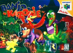 I spent whole weekends of my young life playing this game. - Banjo Kazooie (and Tooie!)