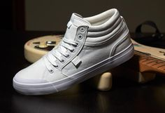 DC Shoes, DC Skate Shoes, DC Evan Smith HI TX White/White