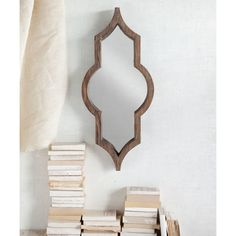 Irregular Wood Framed Wall Mirror by Mistana My Mirror, Cool Mirrors, Floor Mirror, Oversized Wall Mirrors, Mirrors Wayfair, Frames On Wall, Framed Wall, Wall Art, Wall Plaques
