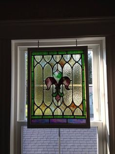 Faux stained glass, Window clings and Stained glass