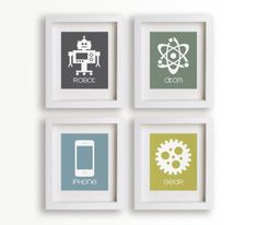 WANT. #geeky #robot #art #decor