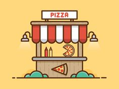 Pizza Stand by Scott Tusk