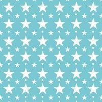 Geschenkpapier Sterne blau, Auskleidung Schubalden