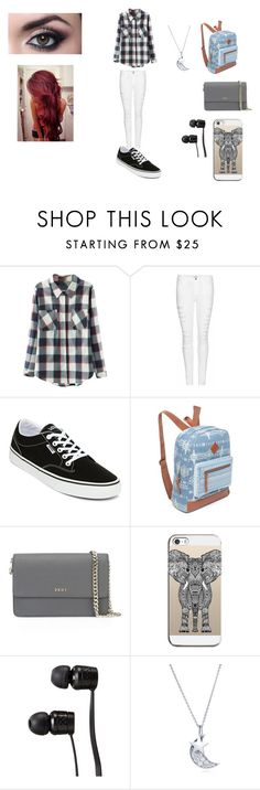 """Astro imagines"" by princess-emmi on Polyvore featuring Relaxfeel, Frame Denim, Vans, Red Camel, DKNY, Casetify and BERRICLE"