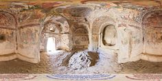 Yilani church Cappadocia Turkey, Christian Art, Middle Ages, The Rock, Mount Rushmore, National Parks, Interior, Painting, Catholic Art