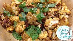 Recipe: Curry Roasted Cauliflower!
