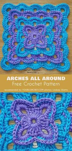 Transcendent Crochet a Solid Granny Square Ideas. Inconceivable Crochet a Solid Granny Square Ideas. Crochet Motifs, Granny Square Crochet Pattern, Crochet Blocks, Crochet Stitches Patterns, Crochet Squares, Knitting Patterns, Afghan Patterns, Free Crochet Square, Crochet Square Blanket