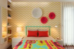 Girly Room : Dormitorios de estilo moderno de Ana Rita Soares- Design de Interiores