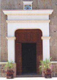 Open door in Mazatlan, Mexico