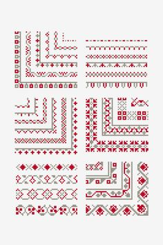 Point de Marque 9 Cross Stitch Pattern, You can cause really particular habits for textiles with cross stitch. Cross stitch types will nearly surprise you. Cross stitch newcomers can make the types they desire without difficulty. Celtic Cross Stitch, Cross Stitch Heart, Simple Cross Stitch, Modern Cross Stitch, Cross Stitch Designs, Cross Stitch Patterns, Easy Cross, Cross Stitch Boarders, Cross Stitch Bookmarks
