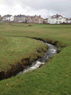 Brook running across and holes Golf Course Reviews, Golf Courses, 18th, Running, Racing, Golf Course Ratings, Keep Running, Track