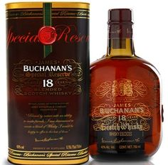 Whisky Blended Buchanan's 18 anos  Teor alcoólico: 40% Volume: 750 ml