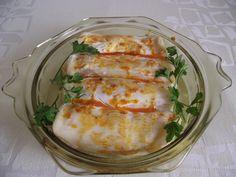 Hús és palacsinta - jó összhang és finom! Fresh Rolls, Ethnic Recipes, Food, Essen, Meals, Yemek, Eten