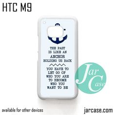 Anchor Quotes - Z Phone Case for HTC One M9 case and other HTC Devices