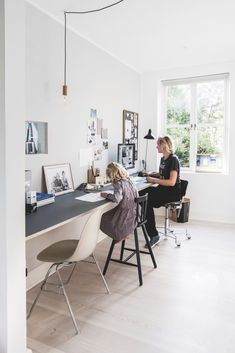 So make sure you design your home office exactly how you want from the perfect colors. See more ideas about Desk, Home office decor and Home Office Ideas. Home Office Uk, Home Office Desks, Home Office Furniture, Rustic Furniture, Furniture Ideas, Office Workspace, Office Decor, Office Ideas, Office Designs