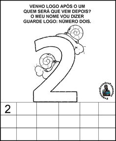 Atividade numérica Educação Infantil